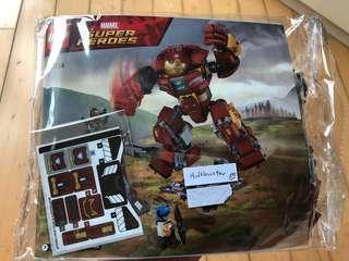 Lego 76104 Hulkbuster 未砌 Infinity War Ironman