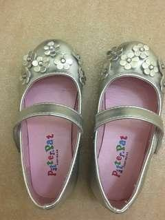 Toddler Silver Shoes