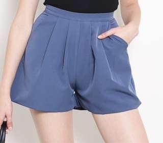 Shop Sassy Dream (SSD) Taylor Shorts in Ash Blue