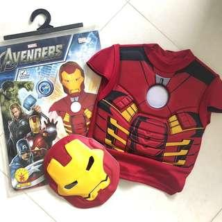 🚚 (Free Postage) Iron Man Character Costume for Boys