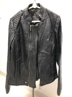 Pepe Jeans London Leather Jacket