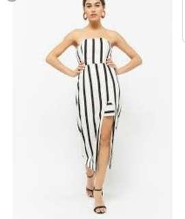 Forever 21 Slit Midi Dress