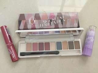 (Take All) Eyeahadow, Lip Tint & Lip Bali Madame Gie