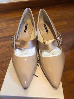 New Zara Beige Heels