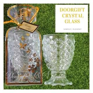 Doorgift Crystal Glass