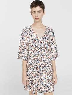 Mango sleeve dress