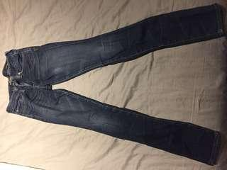 Lucky name brand jeans