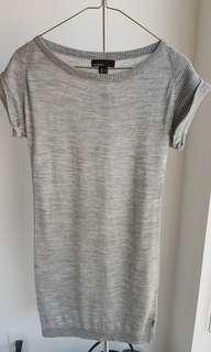 Sweater dress from Mango, size XS