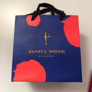 #Blessing Janice Wong paper bag