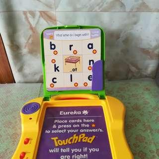 Eureka TouchPad With Pictures Cards Educational Game