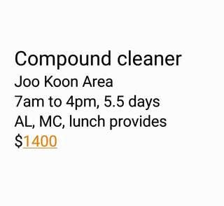 Compound cleaner