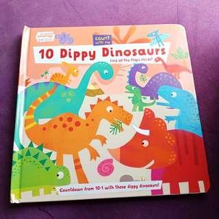 BBW Book 10 Dippy Dinosaurs