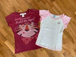 Vintage Abercrombie and Kelloggs Mini T-shirts