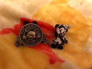 包平郵📮迪士尼襟章 經典米奇 Disney Classic Mickey Pin