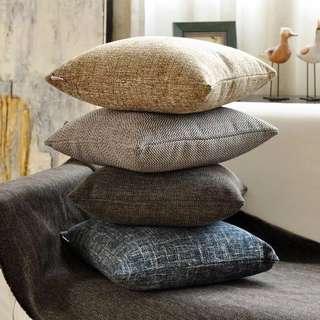 45cm*45cm加厚布藝亞麻大抱枕,沙發抱枕。