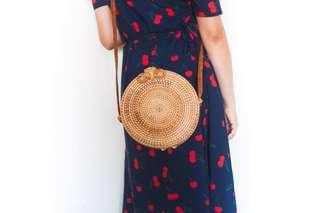 Rattan Round Bag perfect for summer - NEW!!