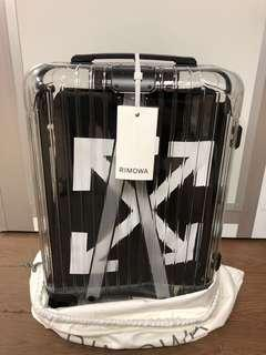 Off White X Rimowa Luggage