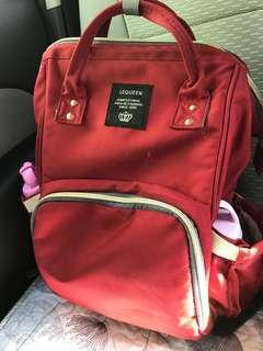[preloved] mummy maternity nappy diaper large baby travel backpack