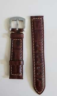 20mm真皮鱷魚紋錶帶