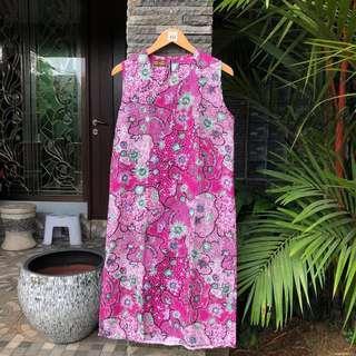 Batik Dress Rumahan Pink