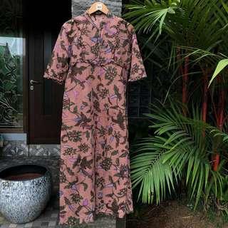 Batik Dress Terusan