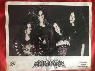 Vintage Sil khannaz promo postcard poster