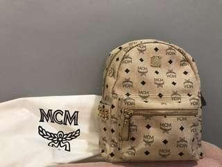 Authentic MCM Stark Side Studs Backpack