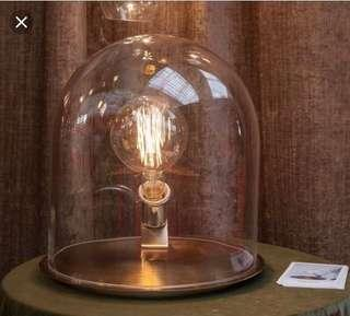 🚚 Glass Dome lamp by Ebb & Flow
