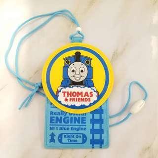 [包郵] THOMAS 八達套 証件套 連掛繩 火車頭 '04