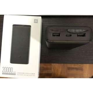 小米移動電源3 20000MAH 高配版