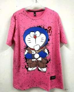 Kaos Wanita Doraemon
