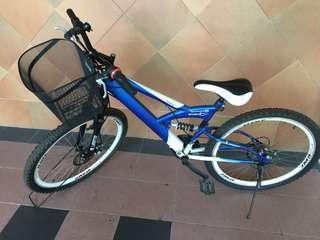 Adult Mountain bike (suspension and gear)