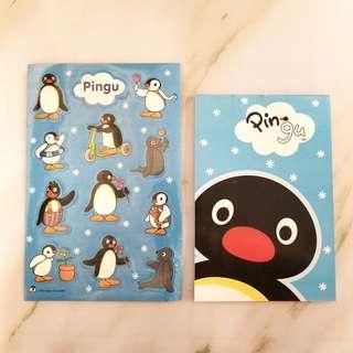 PINGU 企鵝仔 MEMO 紙連貼紙套裝 '04