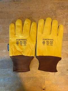 🚚 Portwest Leather Work Gloves