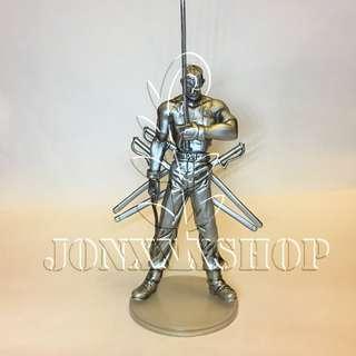 鋼之鍊金術師 盒蛋2 大總統 銀色版 全新 Fullmetal Alchemist Trading Arts vol.2 King Bradley Metallic ver.