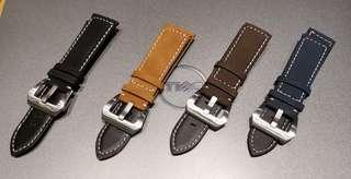Assolutamente Leather Strap 24mm