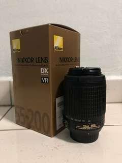 Nikon 55-200mm F4-5.6G IF-ED AF-S DX VR