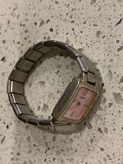 Small pink watch