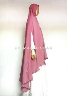 Khimar Syar'i Handsplit / Jilbab Belah Tangan