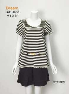 Japan DR白雪公主繡花短袖衫 (free size)