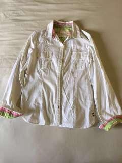 Ladies White Classic Shirt