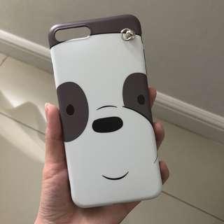 Casing PanPan We Bare Bears iPhone 8+/7+