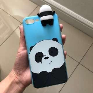 Casing PanPan We Bare Bears iPhone 8+ / 7+