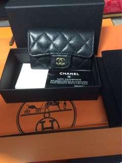 chanel wallet full set with receipt
