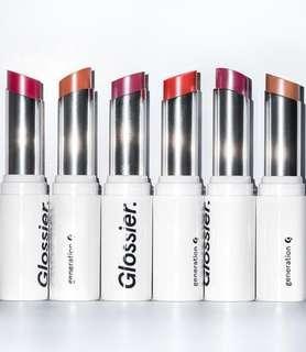 Glossier Generation G lipstick (pre-order)