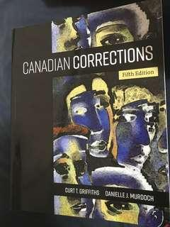 Canadian Corrections 5th Edition
