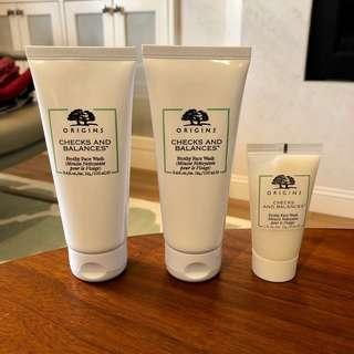 BN Origins Checks And Balances Frothy Face Wash
