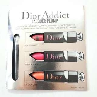 Dior Lipstick Sample dior addict 唇膏