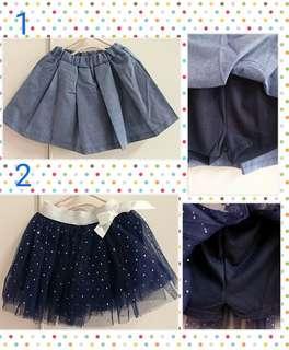 🚚 女童裙褲