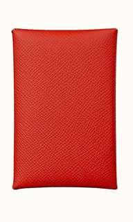 BN Hermes Calvi Rouge de Coeur in Epsom